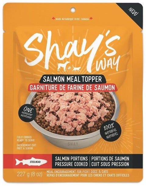 Shay's Way Meal Topper (Steelhead Salmon) - Bully Bunches