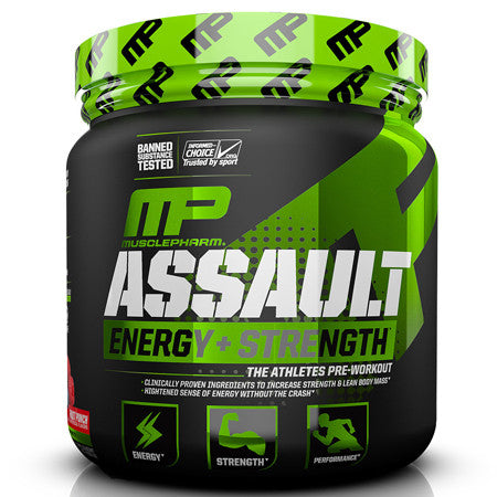 Assault Sport (30 Servings) - MusclePharm $20!