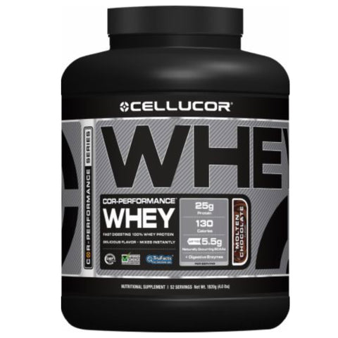 COR-Performance Whey 4 lbs Whipped Vanilla - Clearance Exp 07/18 $66!