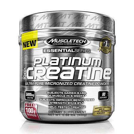 Platinum 100% Creatine 400g - Muscle Tech