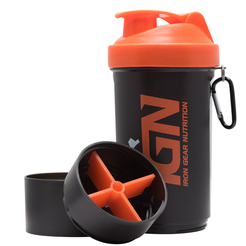 IGN - 600ml Smart Shaker Bottle - Black $1