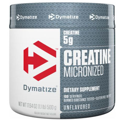 Creatine (500g) Dymatize - Clearance Exp 10/19 $5