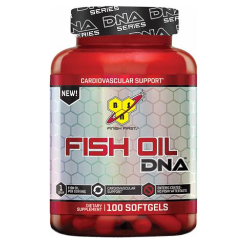 BSN Fish Oil DNA 100 Softgels - Clearance Exp 05/19 $9!