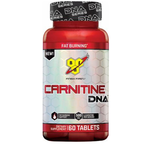 BSN Carnitine DNA 60 Tablets CLEARANCE - Exp 6/17 $12!