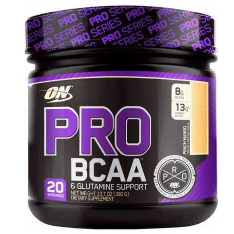 PRO BCAA 20 Servings Fruit Punch Optimum Nutrition - CLEARANCE 05/18 (Hardened) $23!