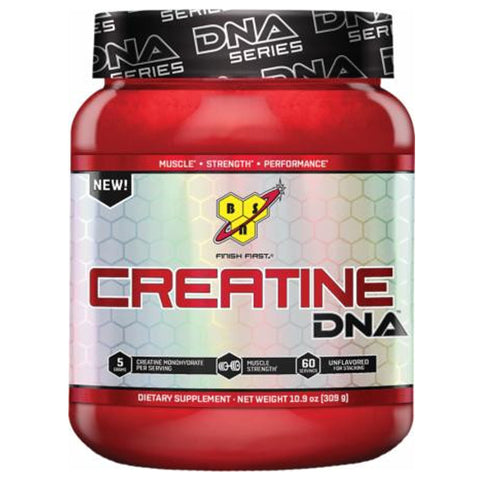BSN Creatine DNA Unflavored 309 Grams (Hardened) - Clearance Exp 10/18 $11!