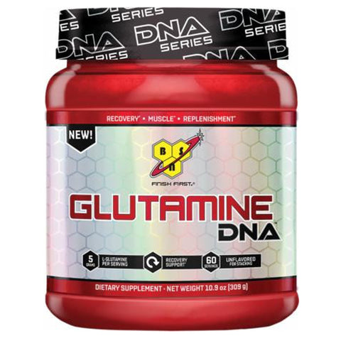 BSN Glutamine DNA Unflavored, 309 Grams - Clearance Exp 04/19 $5!