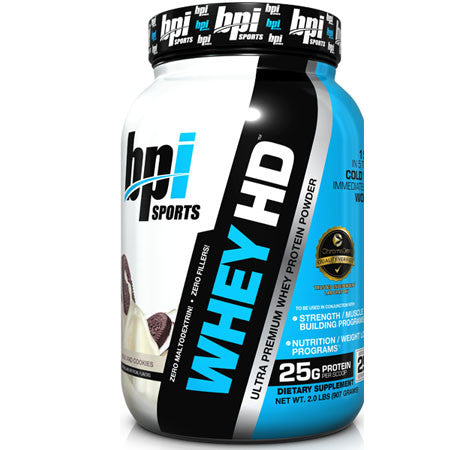 BPI Whey HD 4.5 lbs (Chocolate Cookie) - Clearance Exp 12/18 $72!