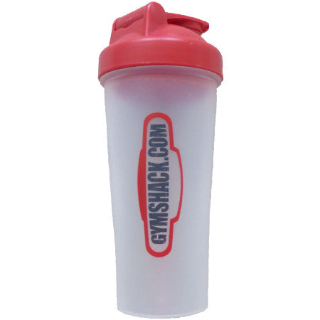 GYMSHACK.COM 600ml Shaker Bottle Clear