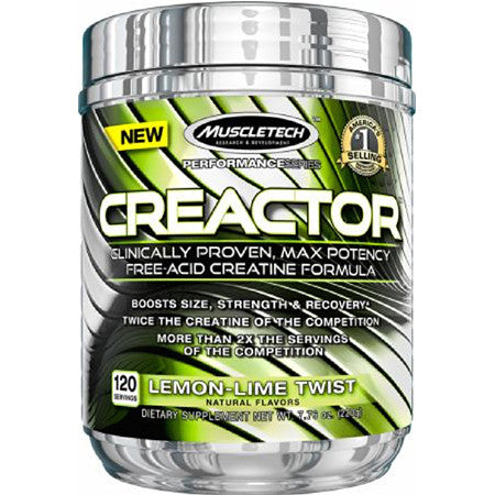 Creactor 120 Servings MuscleTech - CLEARANCE Exp 12/17 $35!