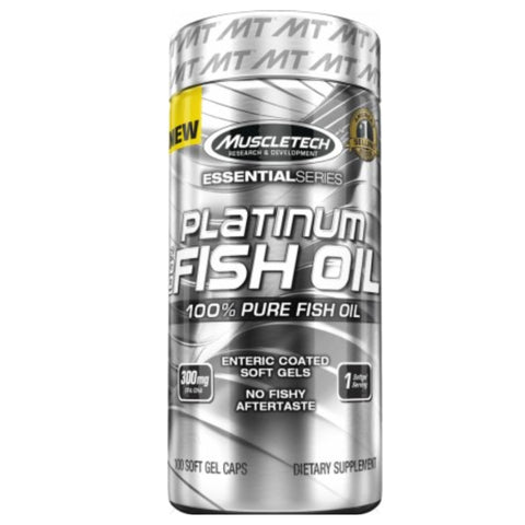 Platinum 100% Fish Oil 100 Softgels MuscleTech