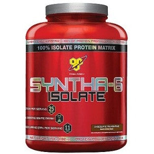 Syntha 6 Isolate 4.01 lbs BSN Strawberry - Clearance Exp 08/19 $52!