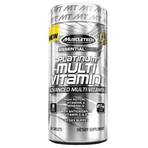 Platinum Multivitamin 90 Caplets MuscleTech