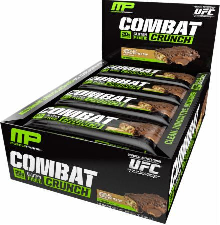 MusclePharm Combat Crunch Bars 12 Bars