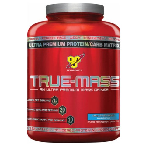 True Mass 5.75 lbs BSN Vanilla - Clearance EXP 09/17 $32!