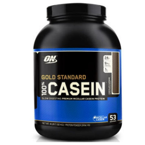 100% Casein Protein 4 lbs Optimum Nutrition - Clearance Exp 07/19 $64!