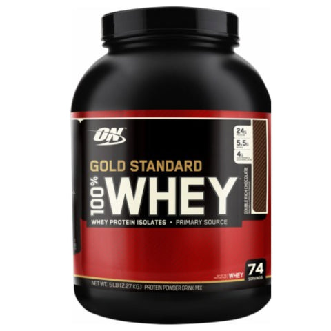 100% Whey Protein 5 lbs Optimum Nutrition - Clearance Exp 01/19 $62!