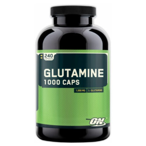 Glutamine 1000 (240 Caps) Optimum Nutrition - Clearance Exp 11/18 $18!