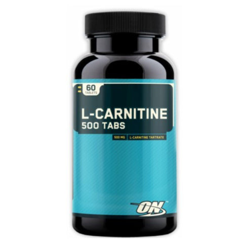 L-Carnitine 500mg ( 60 tablets ) Optimum Nutrition - Clearance Exp 12/18 $23!