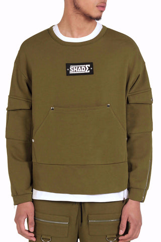 Utilitarian Sports Sweat / Khaki