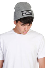 Beanie Hat / Heather Grey