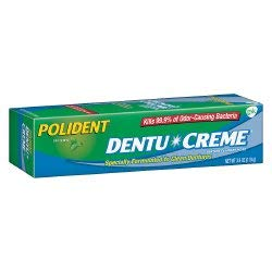 Polident Dentu Creme Denture Cleaner Cream, 31015809206   Sold By: Pack Of One