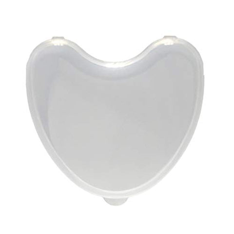SUPVOX Denture Storage Container Denture Cup Retainer Cleaning Soaking Cup Protector Transparent