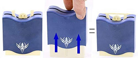 Toothpick Holder  Strong Man Style  Blue