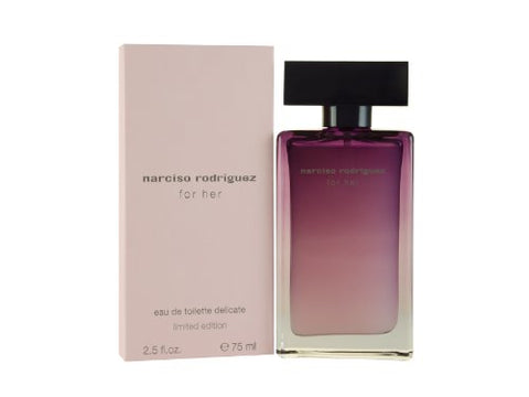 Narciso Rodriguez Eau De Toilette Delicate Spray Limited Edition for Women, 2.5 Ounce