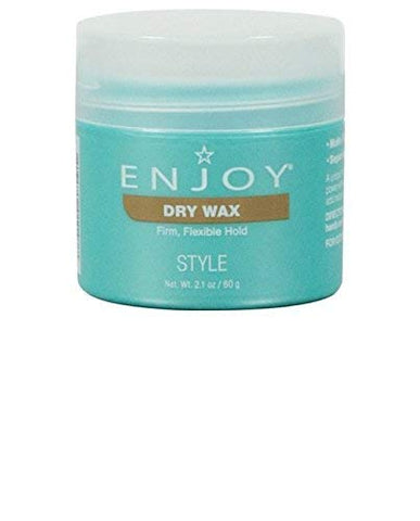 Enjoy Dry Wax (2.1 Oz) â?? Non Greasy, Pliable Hair Wax