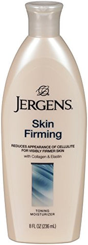 Jergens Skin Firming Toning Body Moisturizer, 8 Ounces (Pack Of 2) (Packaging May Vary)