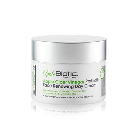 Apple Biotic Apple Cider Vinegar Face Cream,Hydrating, Redness Relief Face Moisturizer Lotion For Dry