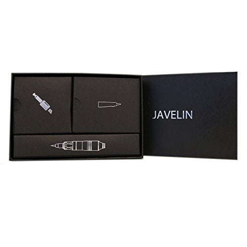 Javelin Tattoo Pen & Permanent makeup Rotary Machine Cartridge Liner Shader (Smooth Silver)