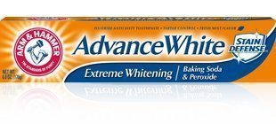 Arm and Hammer Advance Whitening Toothpaste .9 Oz Travel Size 4 Pk.