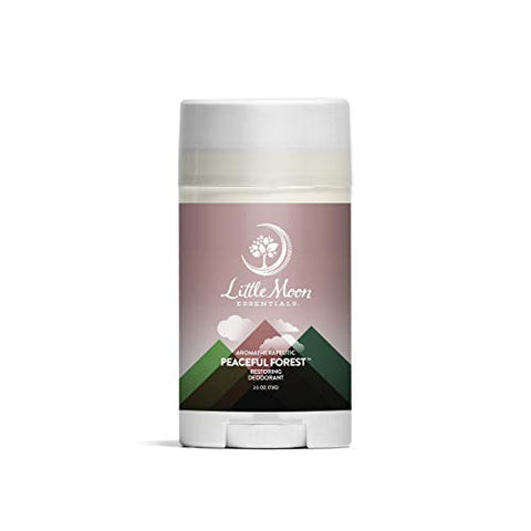 Little Moon Essentials Natural Aluminum Free Deodorant Stick, Peaceful Forest, 2.5 oz.