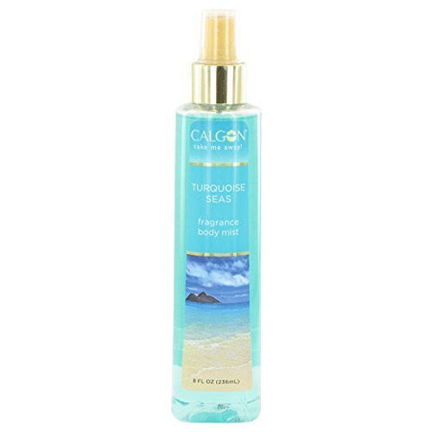 Calgon Take Me Away Turquoise Seas by Calgon Body Mist 8 oz for Women