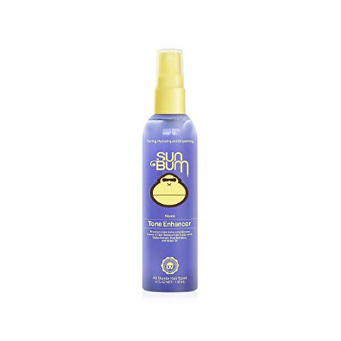 Sun Bum Blonde Tone Enhancer | Paraben, Gluten And Cruelty Free Purple Leave In Treatment  For Blond