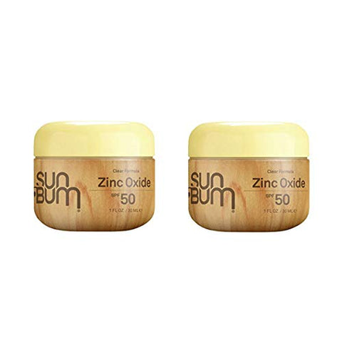 Sun Bum Original Moisturizing Sunscreen Clear Zinc Spf 50 | Vegan And Reef Friendly | Octinoxate & O