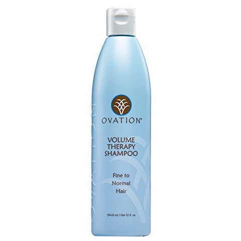 Ovation Volume Therapy Shampoo   Salon Quality, Sulfate Free Shampoo With Natural Ingredients Includ