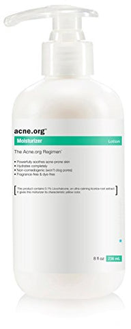 Acne.org 8 oz. Moisturizer with Licochalcone