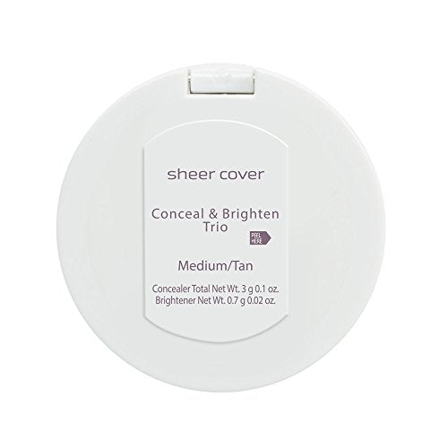Sheer Cover Studio â?? Conceal And Brighten Highlight Trio â?? Two Toned Concealers â?? Shimmering H