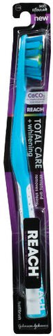 Reach Total Care Plus Whitening Toothbrush, Soft - Colors May Vary
