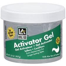 Long Aid Curl Activator Gel for extra dry hair Size: 32oz