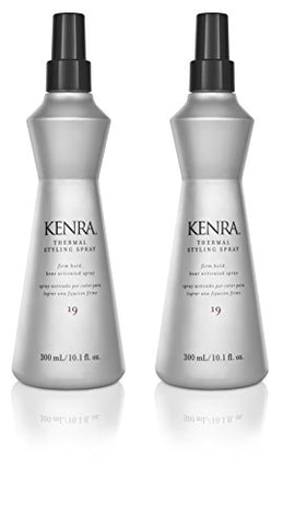 Kenra Thermal Styling Spray #19, 10.1 Fl Oz, 2 Count