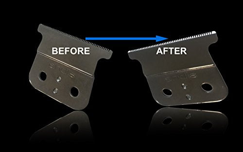 The Rich Barber 1 Minute Blade Modifier | Trimmer Blade Sharpening Tool For Sharper Lines & Precisio