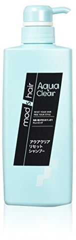 Unilever Japan mods hair | Shampoo | Aqua Clear Reset Shampoo 500ml (Japan Import)