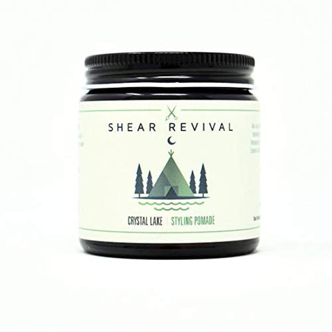 Shear Revival Crystal Lake Water Based Pomade 4oz