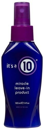 It's A 10 Haircare Miracle Leave In Product, 4 Fl. Oz.
