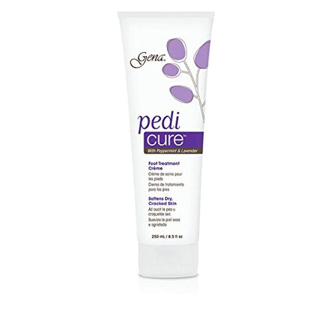 Gena Pedi-Cure with Peppermint and Lavender, 250 ml Tube, (Pack of 2)
