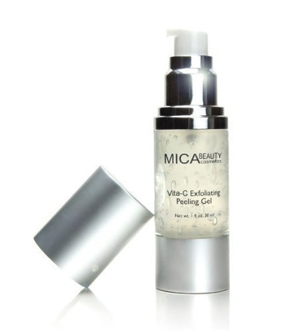 Mica Beauty Vita-c Exfoliating Peeling GEL Provides Gentle Exfoliation